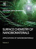 Surface Chemistry of Nanobiomaterials