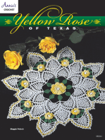 Yellow Rose of Texas Doily