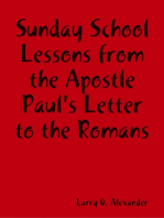 Sunday School Lessons