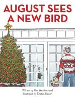 August Sees a New Bird