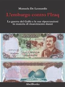 L'embargo contro l'Iraq