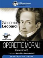 Operette morali (selezione) (Audio-eBook)
