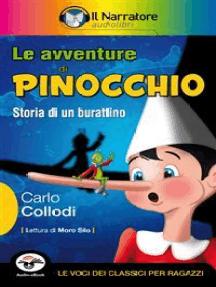 Le avventure di Pinocchio (Audio-eBook): Storia di un burattino.