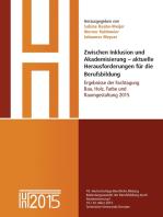 Zwischen Inklusion und Akademisierung – aktuelle Herausforderungen für die Berufsbildung