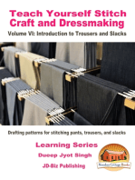 Teach Yourself Stitch Craft and Dressmaking Volume VI
