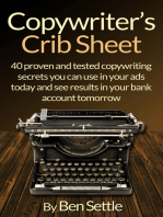 Copywriter's Crib Sheet