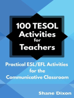 100 TESOL Activities for Teachers