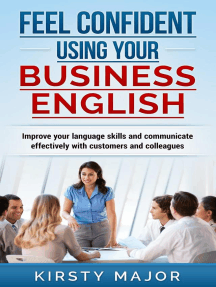 Feel confident using your business English