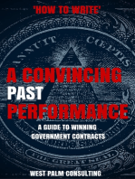 How to Write a Convincing Past Performance