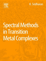 Spectral Methods in Transition Metal Complexes