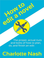 How to Edit a Novel