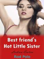 Bestfriend's Hot Little Sister (Lesbian Erotica)