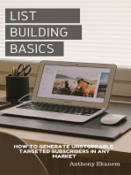 List Building Basics