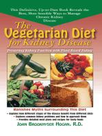 The Vegetarian Diet for Kidney Disease