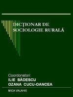 Dicționar de sociologie rurală