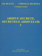 Arhive secrete, secretele arhivelor vol I