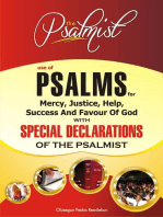 Use of Psalms for Mercy, Justice, Help, Success and Favour of God