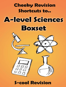 A-level Sciences Revision Boxset: Cheeky Revision Shortcuts