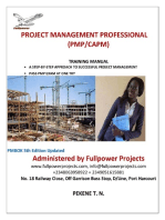 What The Project Management Professional (PMP) Will Do
