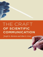 The Craft of Scientific Communication