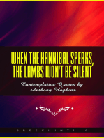 When The Hannibal Speaks, The Lambs Won't Be Silent