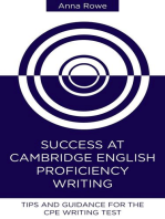 Success at Cambridge English