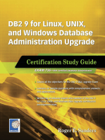 DB2 9 for Linux, UNIX, and Windows Database Administration Upgrade