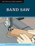 Band Saw (Missing Shop Manual)