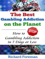 The Best Gambling Addiction Cure on the Planet