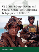 US Marine Corps Recon and Special Operations Uniforms & Equipment 2000–15