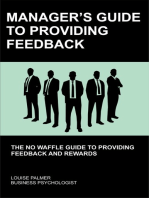 Manager's Guide To Providing Feedback