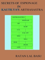 Secrets of Espionage in Kautilya's Arthasastra