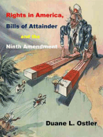Rights in America, Bills of Attainder and the Ninth Amendment