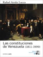 Las constituciones de Venezuela (1811-1999)