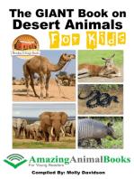 The GIANT Book on Desert Animals For Kids