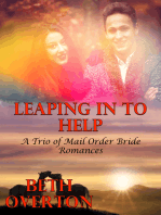 Leaping In To Help (A Trio of Mail Order Bride Romances)
