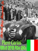 Piero Carini Ferrari Driver From Genoa
