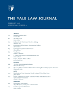 Yale Law Journal: Volume 125, Number 4 - February 2016