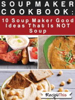 Soup Maker Cook Book