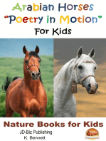 "Arabian Horses ""Poetry in Motion"" For Kids"