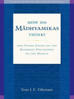 How Do Madhyamikas Think?