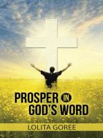 Prosper In God's Word