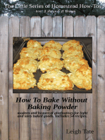 How To Bake Without Baking Powder