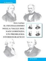 Il feudalesimo nella valle del San Lorenzo: un problema storiografico