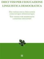 Dieci tesi per l'educazione linguistica democratica