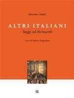 Altri Italiani, Saggi sul Novecento