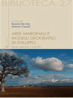 Aree marginali e modelli geografici di sviluppo