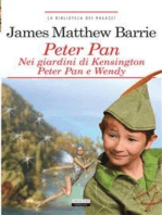 Peter Pan nei giardini di Kensington. Peter Pan e Wendy.