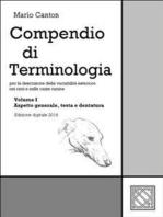 Compendio di Terminologia - Vol. I