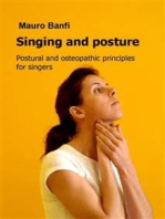 Singing and posture, postural and osteopathic principles for singers
